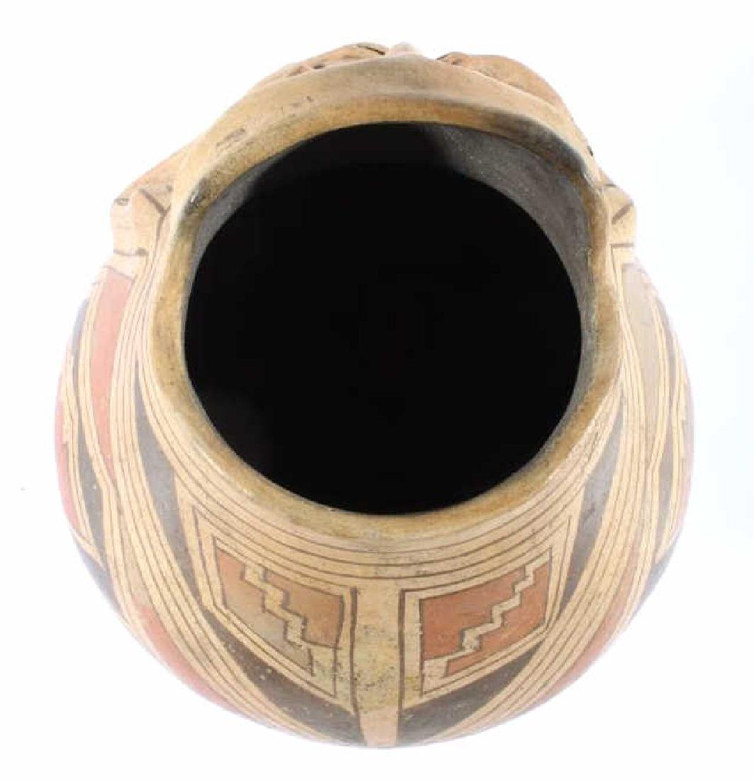 Casas Grandes Polychrome Effigy Jar c. 1250 AD - 10