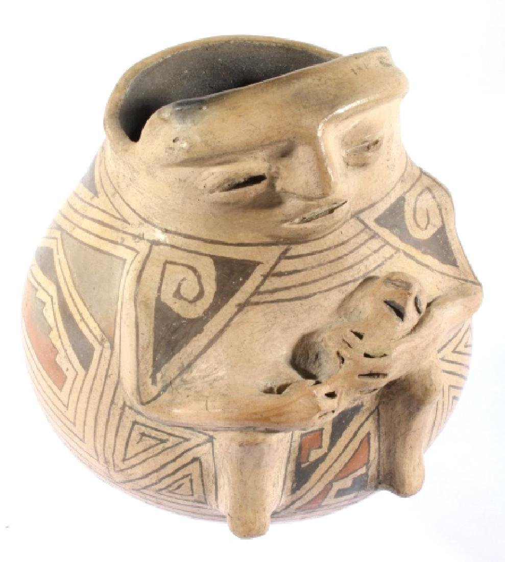 Casas Grandes Polychrome Effigy Jar c. 1250 AD