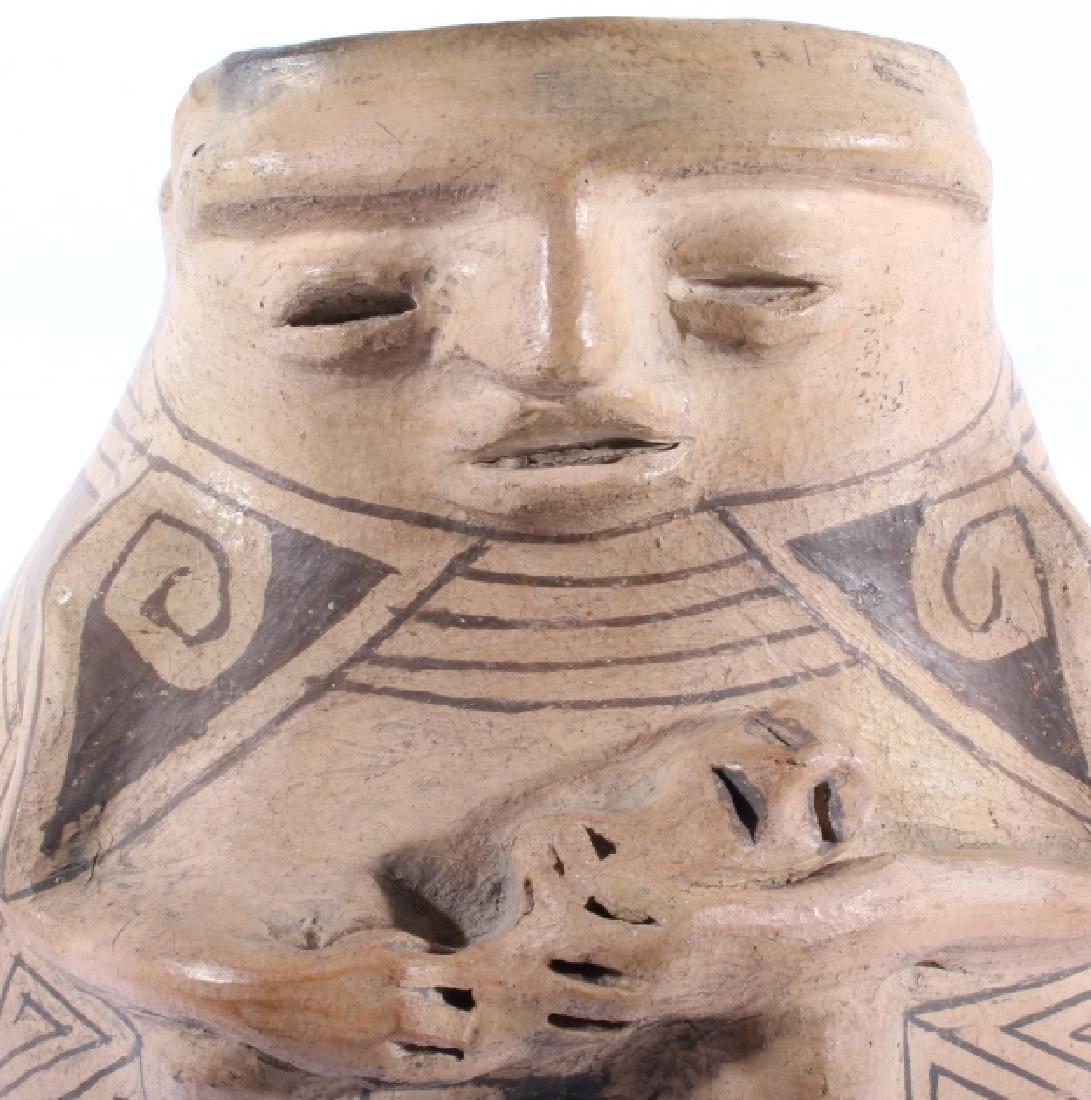 Casas Grandes Polychrome Effigy Jar c. 1250 AD - 3