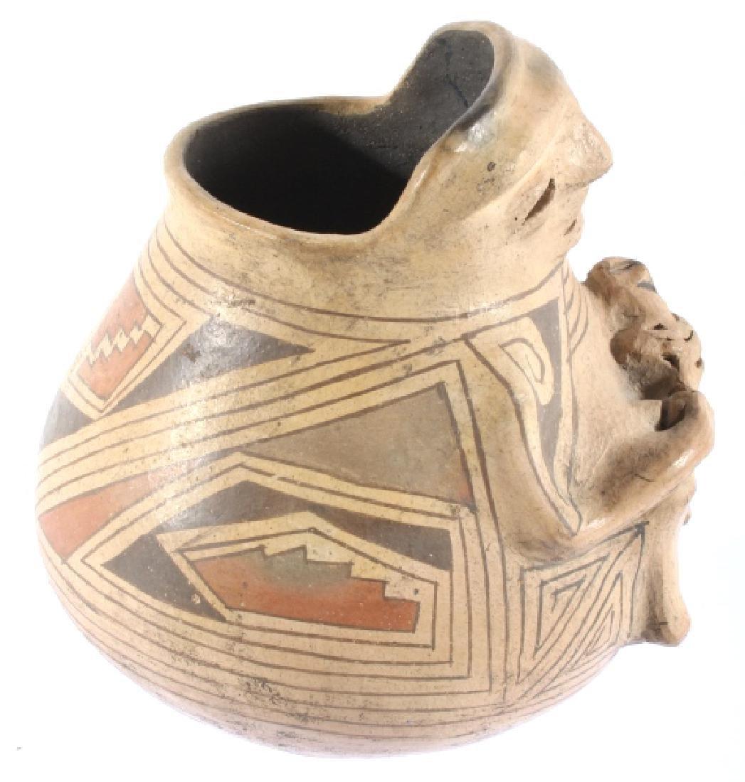Casas Grandes Polychrome Effigy Jar c. 1250 AD - 7
