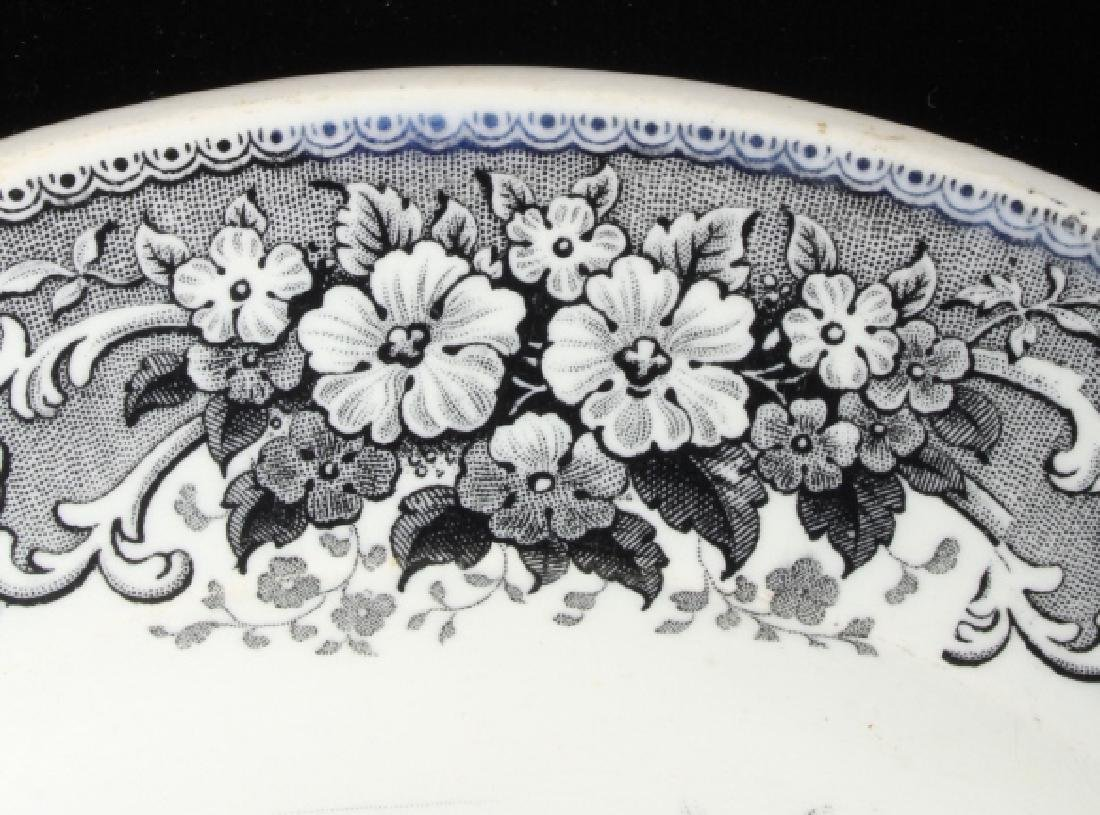 Gold Rush LeBeuf & Milliet Transferware Plate 1850 - 5