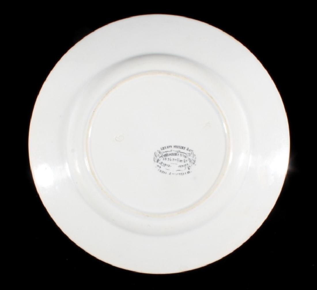 Gold Rush LeBeuf & Milliet Transferware Plate 1850 - 8
