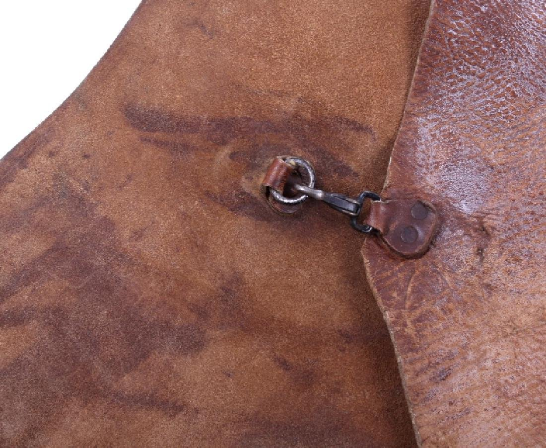 H.H. Heiser Leather Batwing Chaps - 10