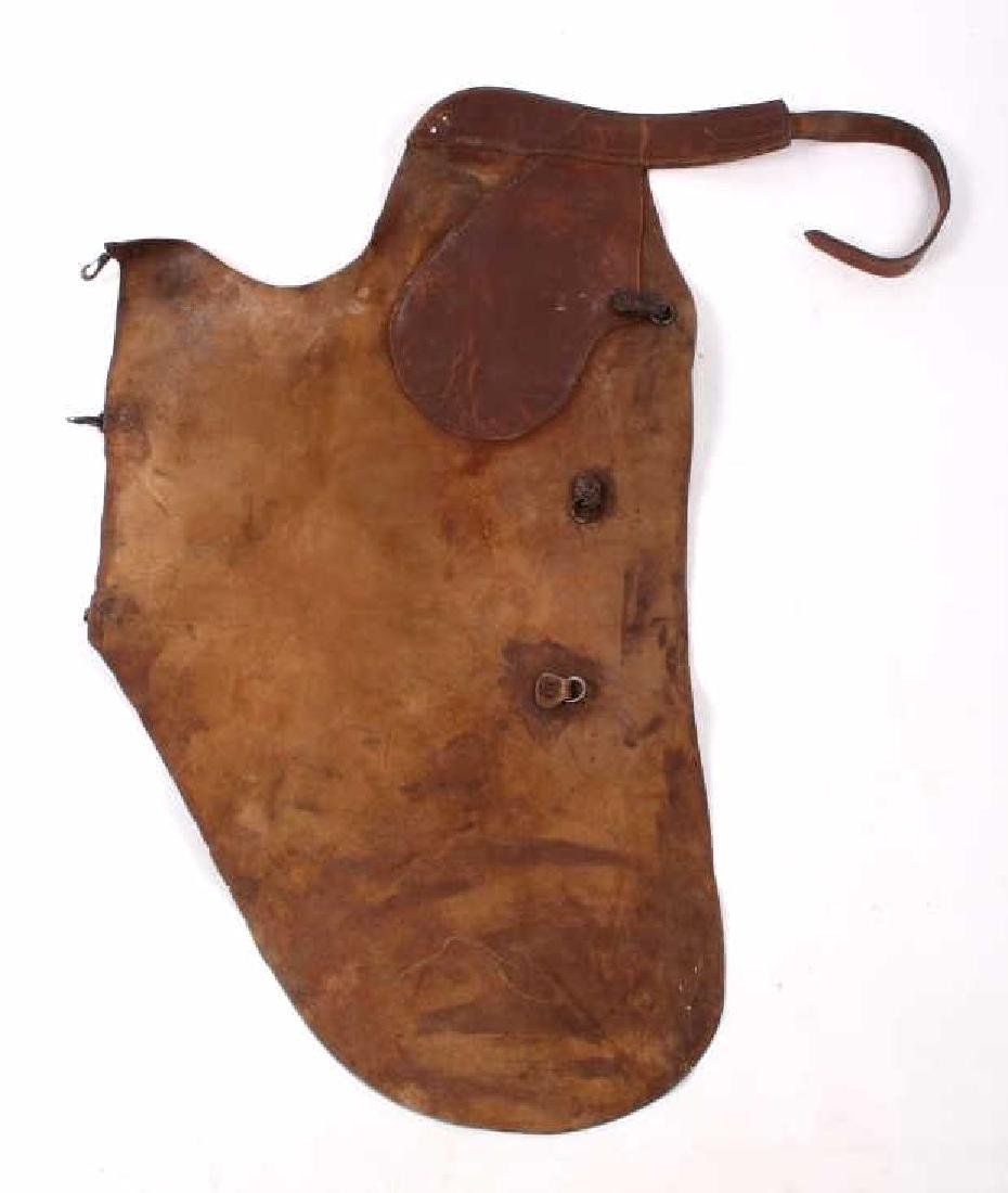 H.H. Heiser Leather Batwing Chaps - 14
