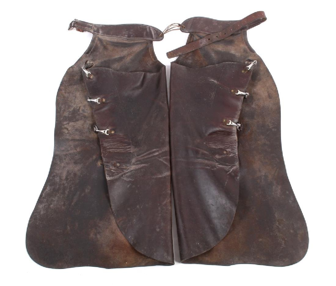 Victor Ario Saddlery Co. Great Fall, Mont. Chaps - 10