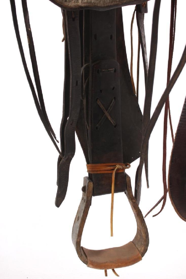 Texas Tanning & MFG Co. Custom Fully Tooled Saddle - 9