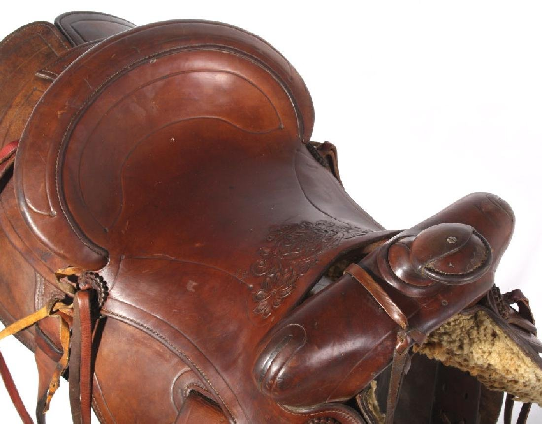 Jack Connolly Livingston, MT Custom Saddle c.1929- - 10