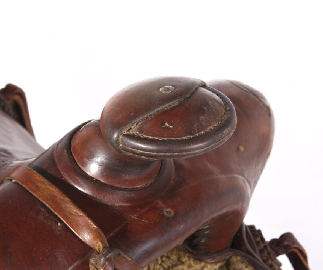 Jack Connolly Livingston, MT Custom Saddle c.1929- - 11