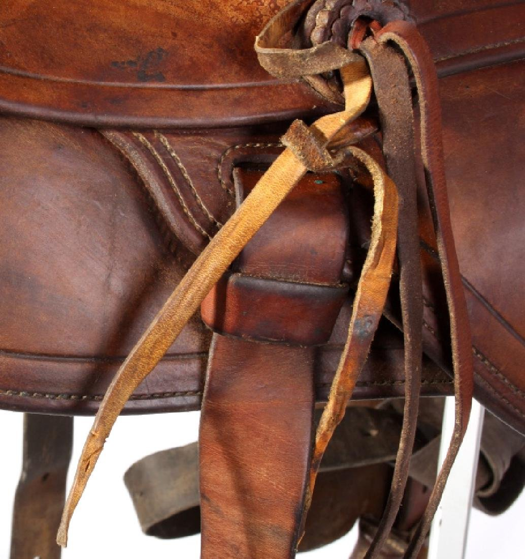 Jack Connolly Livingston, MT Custom Saddle c.1929- - 13