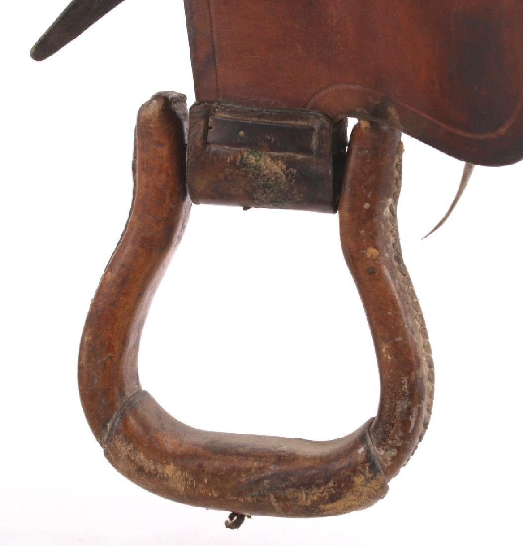 Jack Connolly Livingston, MT Custom Saddle c.1929- - 5