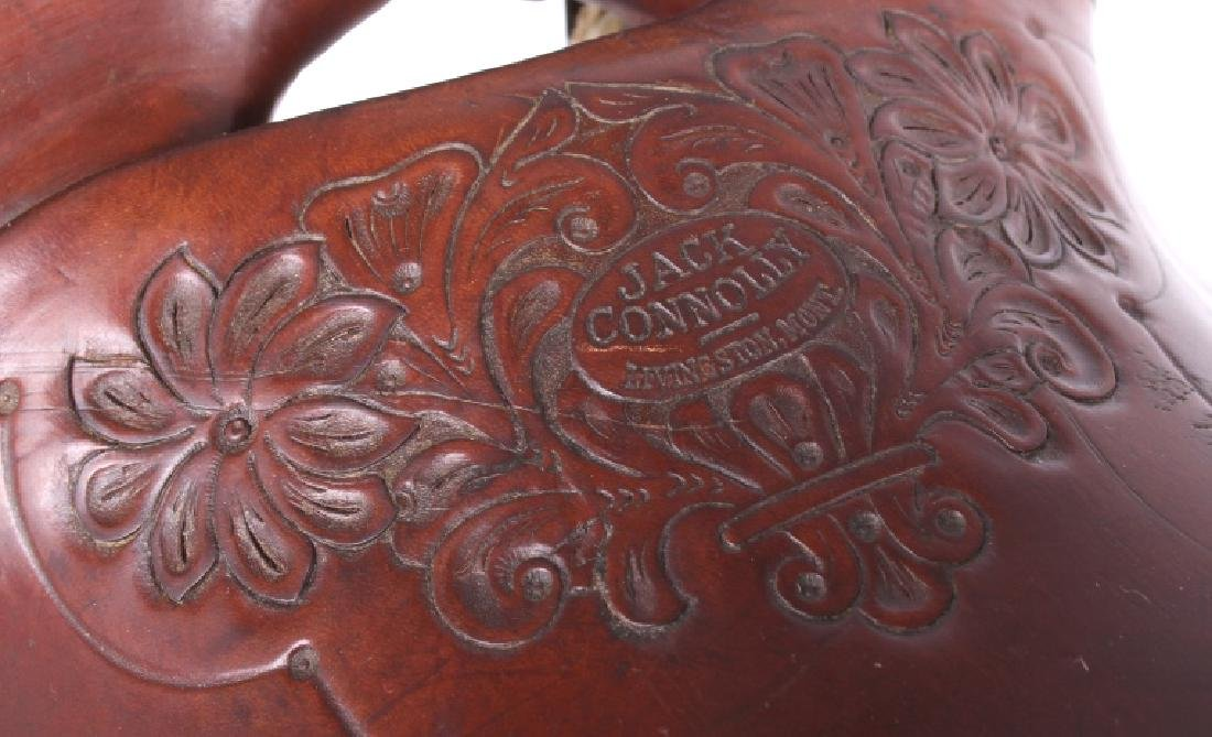 Jack Connolly Livingston, MT Custom Saddle c.1929- - 8