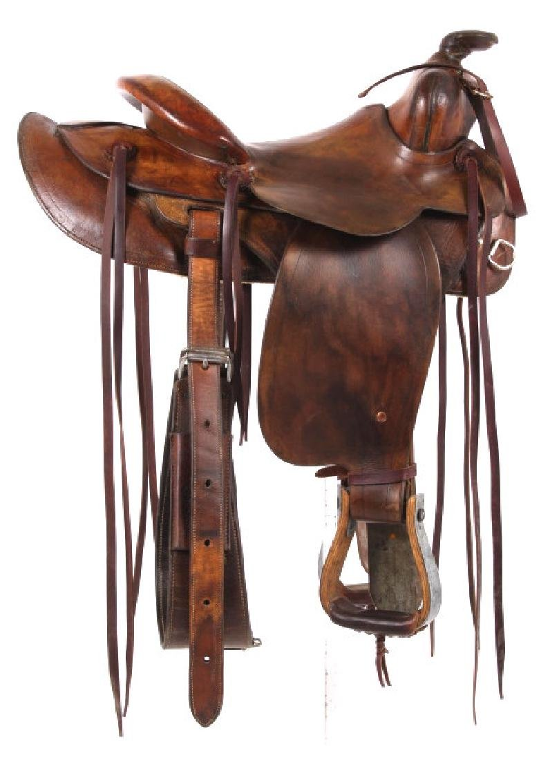 Pat Connolly Billings, MT Western Style Saddle
