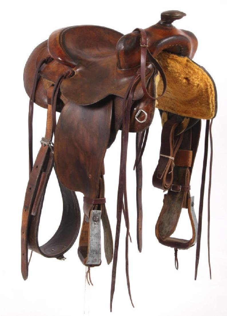 Pat Connolly Billings, MT Western Style Saddle - 3