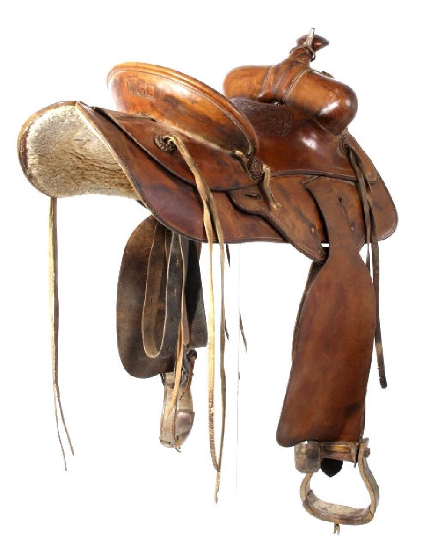 Jack Connolly & Bros Transitional Saddle c.1928-29 - 3