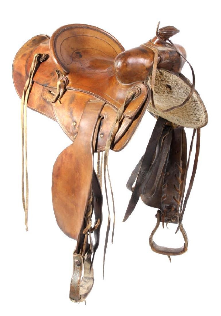 Jack Connolly & Bros Transitional Saddle c.1928-29 - 4