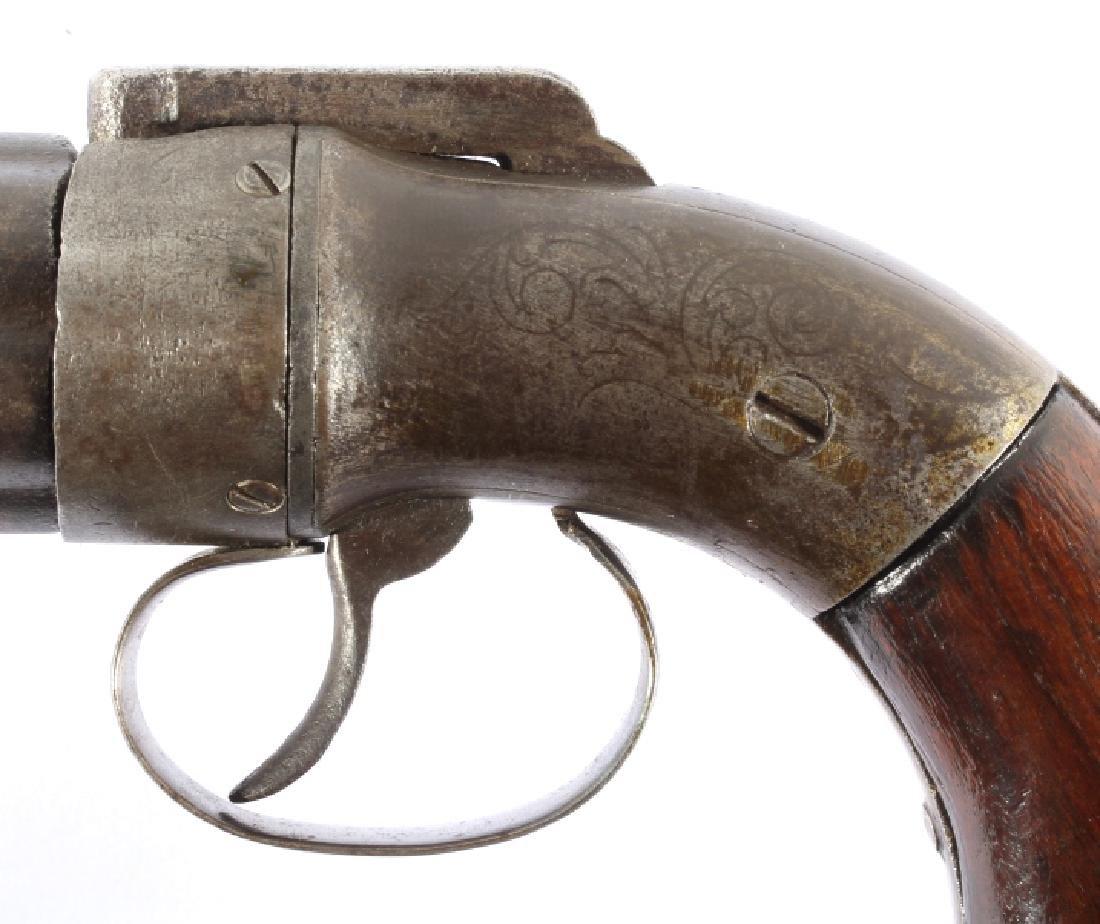 Allen & Thurber Dragoon Sized Pepperbox Pistol - 4