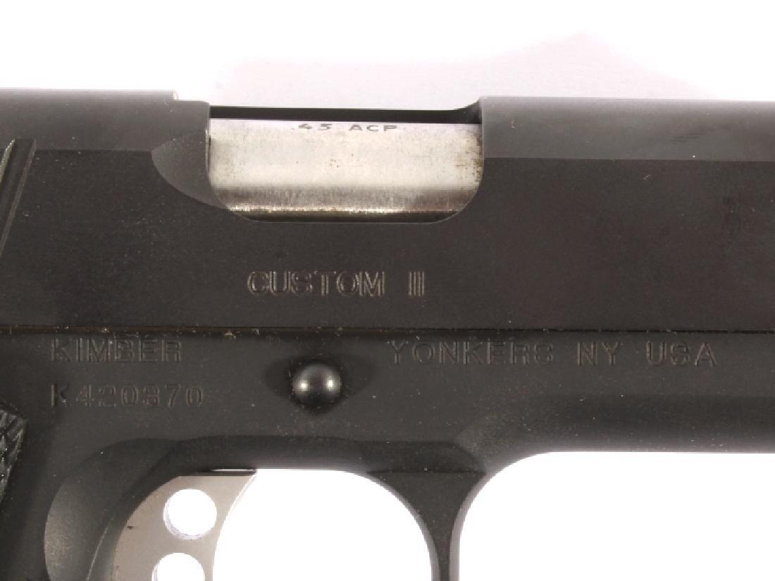 LNIB Kimber 1911 Custom II .45 ACP Pistol - 9