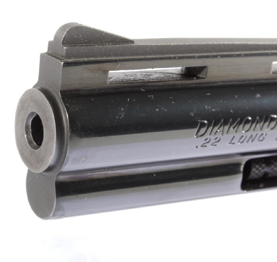 Colt Diamondback D/A .22 Revolver 99%+ w/ Box - 12