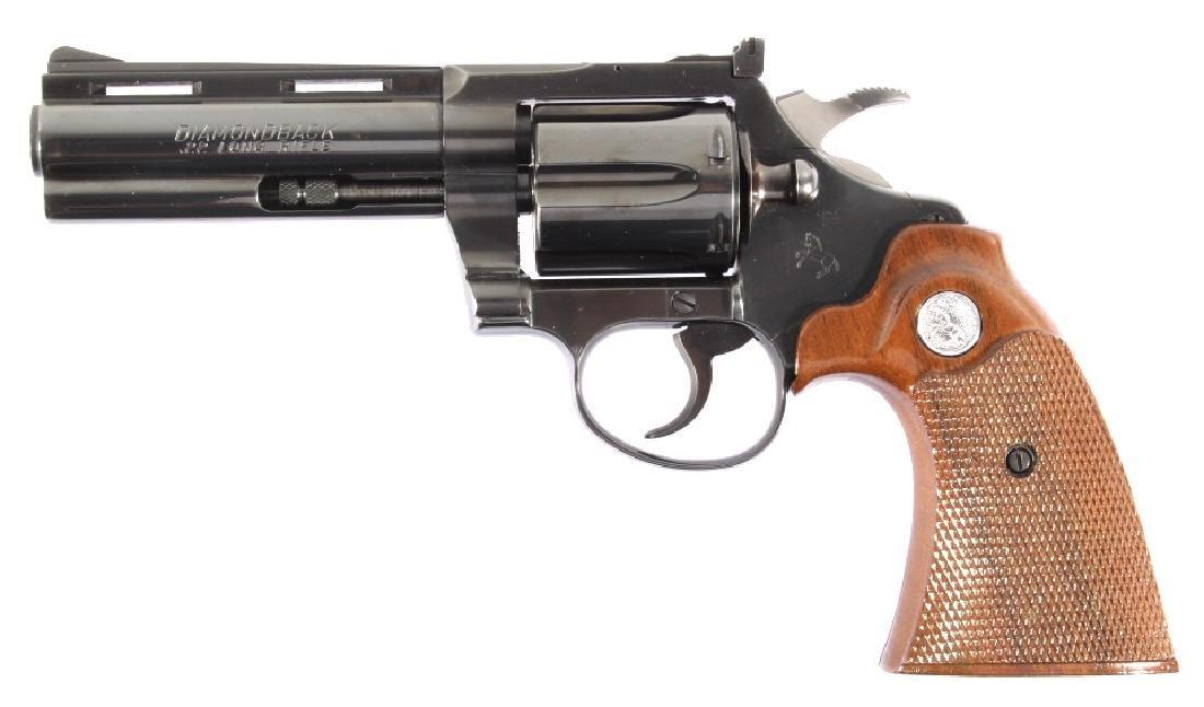 Colt Diamondback D/A .22 Revolver 99%+ w/ Box