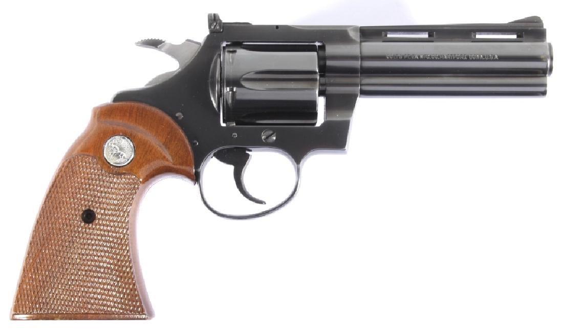 Colt Diamondback D/A .22 Revolver 99%+ w/ Box - 2
