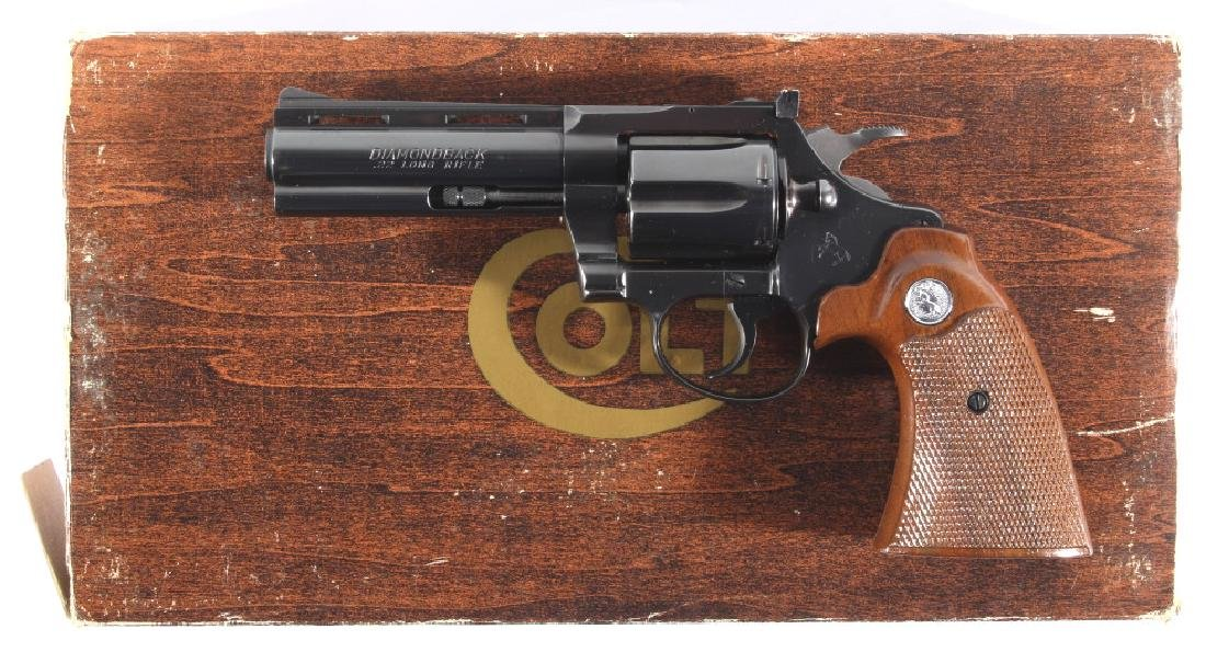 Colt Diamondback D/A .22 Revolver 99%+ w/ Box - 3