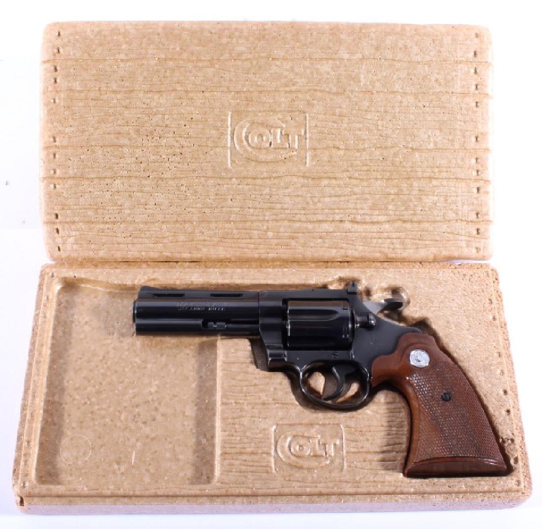 Colt Diamondback D/A .22 Revolver 99%+ w/ Box - 4