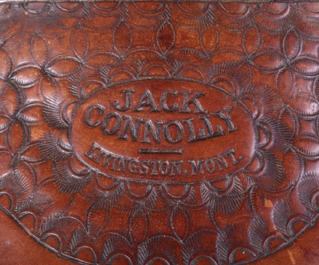 Jack Connolly Livingston, MT Custom Saddle c.1929- - 10