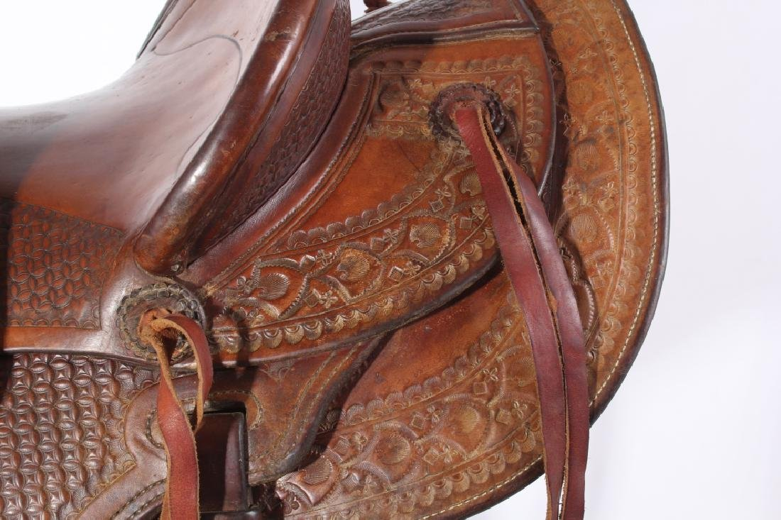 Jack Connolly Livingston, MT Custom Saddle c.1929- - 9