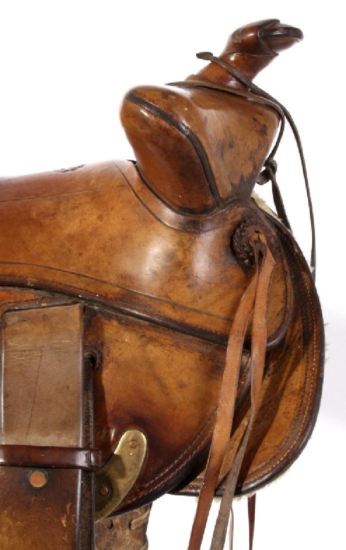Jack Connolly Livingston, MT Custom Saddle c.1929- - 6