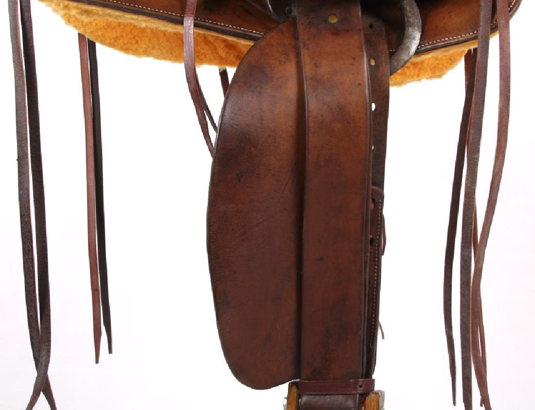 Pat Connolly Billings, MT Western Style Saddle - 5