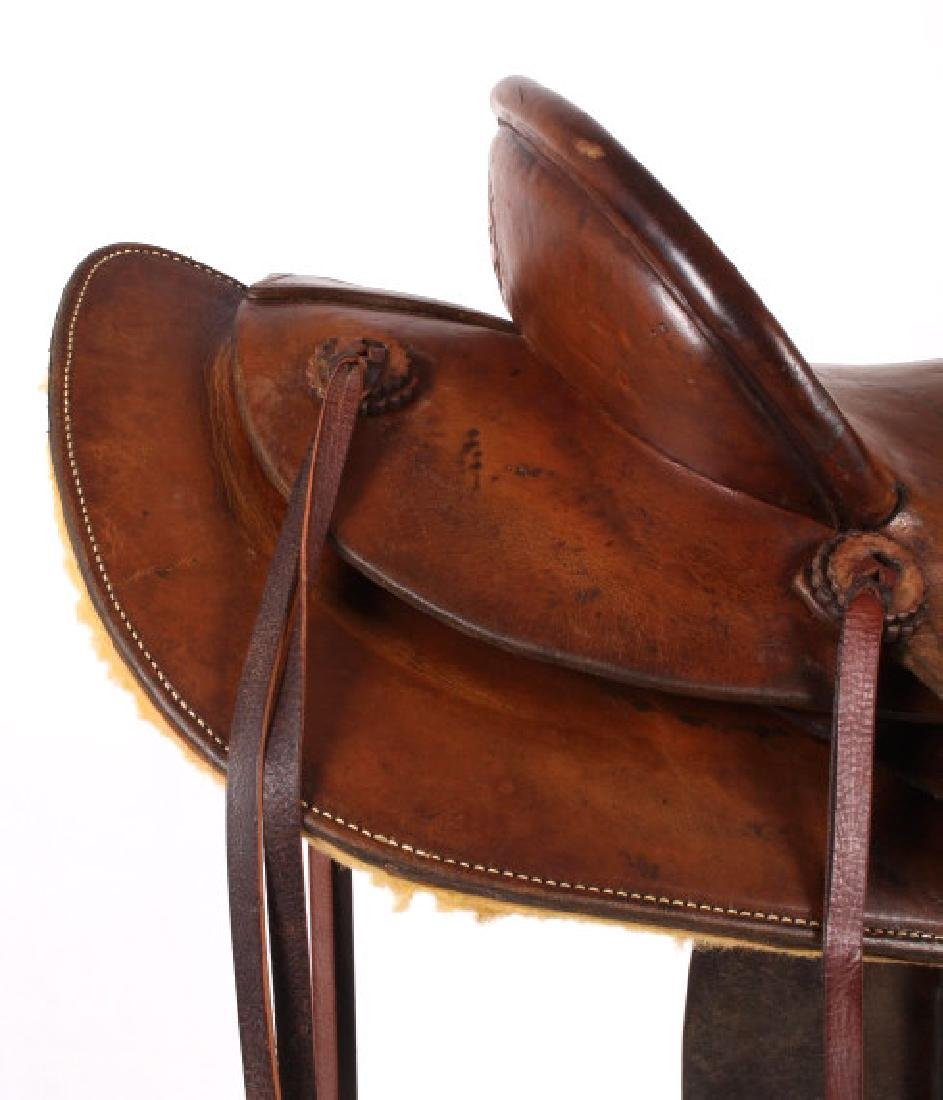 Pat Connolly Billings, MT Western Style Saddle - 7