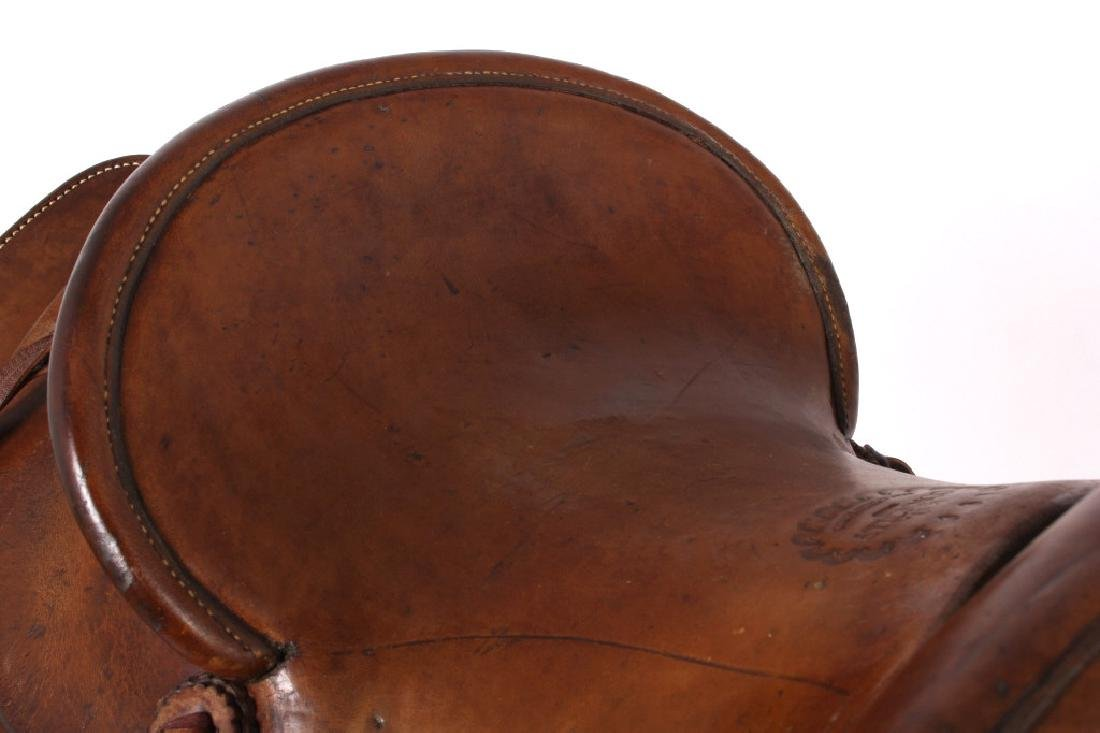 Pat Connolly Billings, MT Western Style Saddle - 8