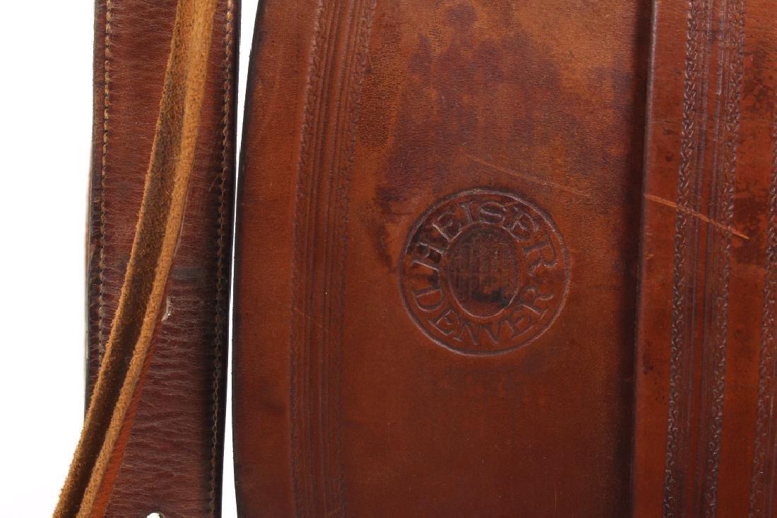 H.H. Heiser Fine Tooled Western Style Saddle - 6