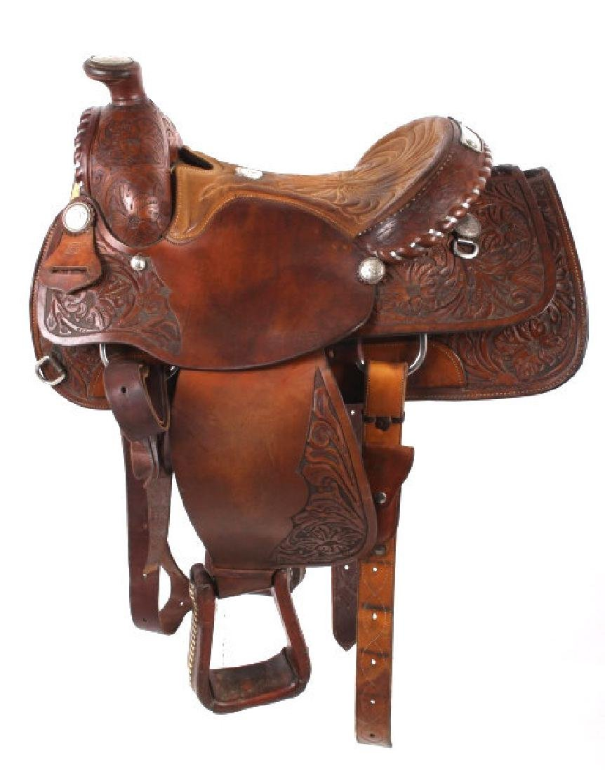 Edward H. Bohlin - Hollywood, CA Western Saddle