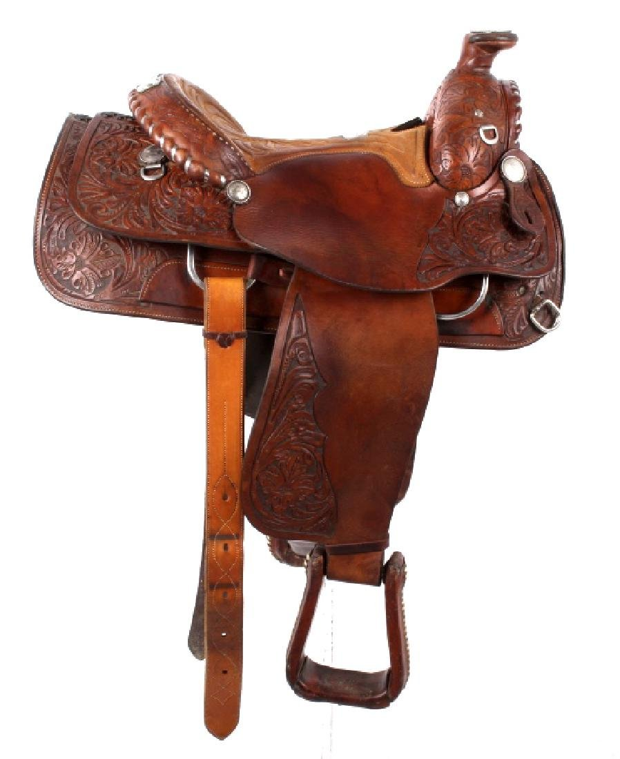 Edward H. Bohlin - Hollywood, CA Western Saddle - 2
