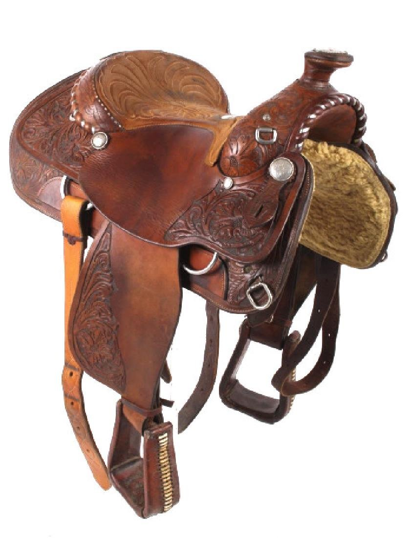 Edward H. Bohlin - Hollywood, CA Western Saddle - 3