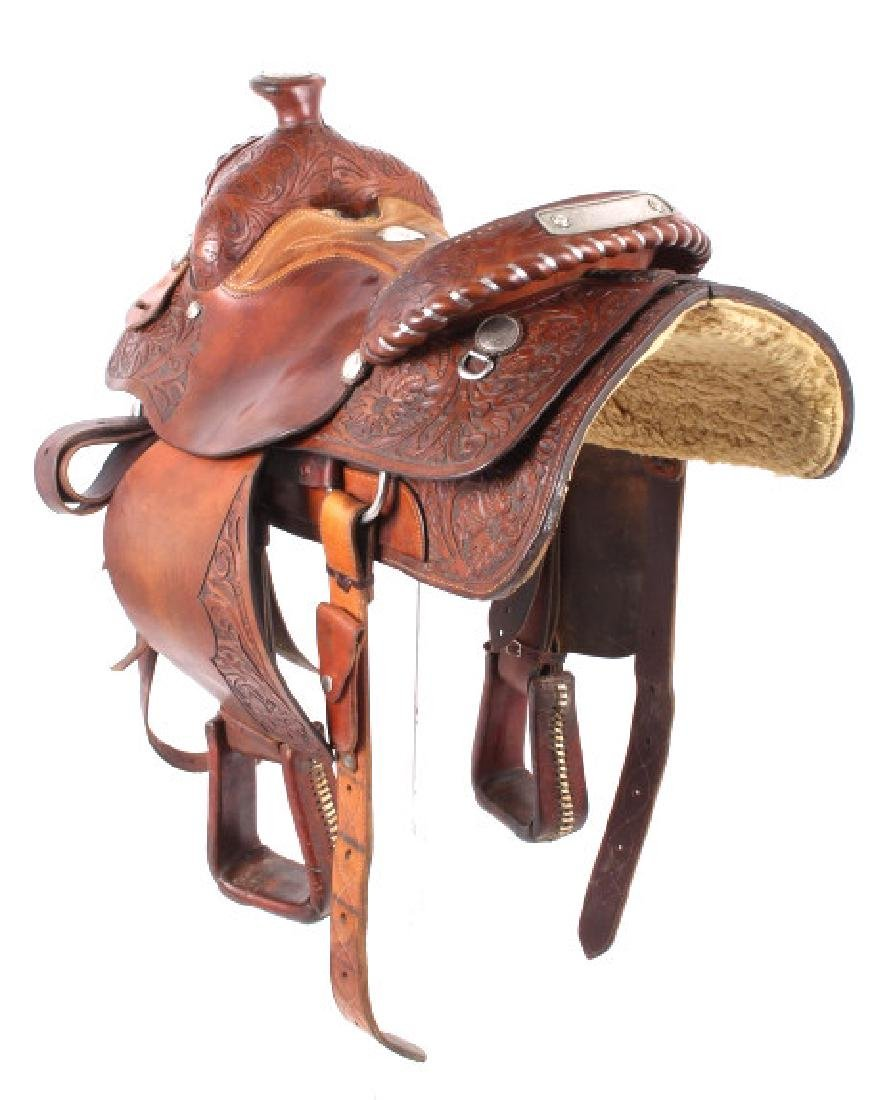 Edward H. Bohlin - Hollywood, CA Western Saddle - 4