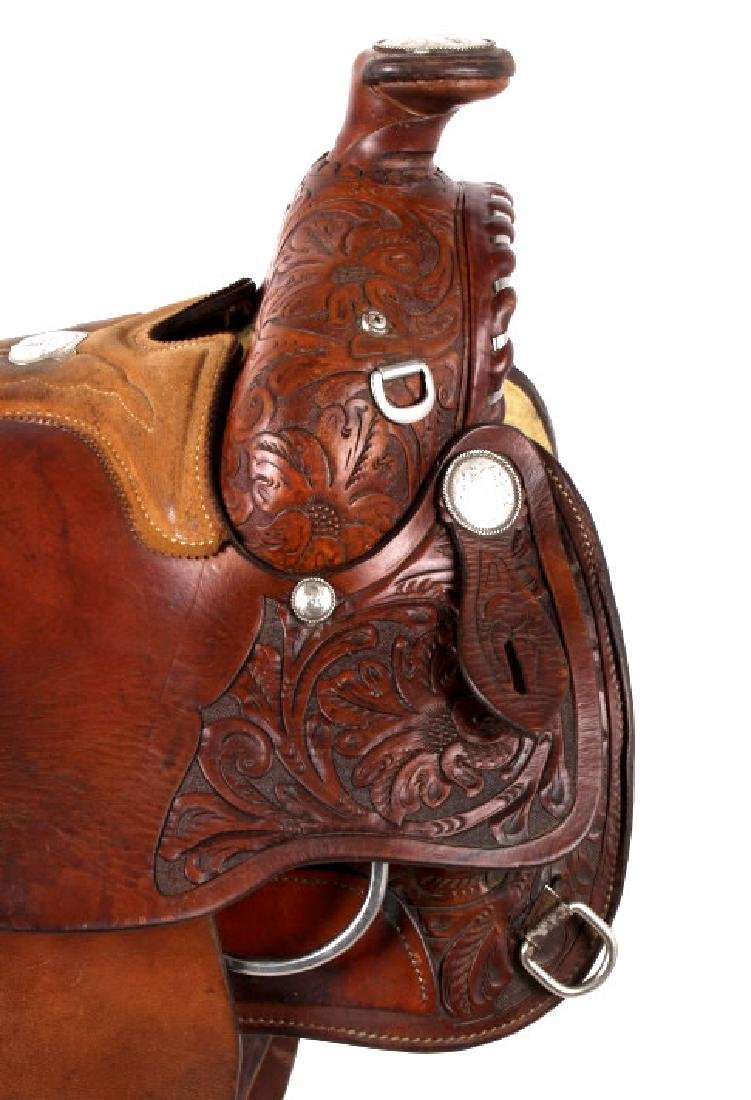 Edward H. Bohlin - Hollywood, CA Western Saddle - 5
