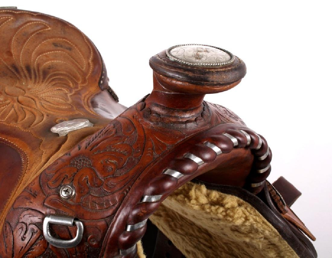 Edward H. Bohlin - Hollywood, CA Western Saddle - 9