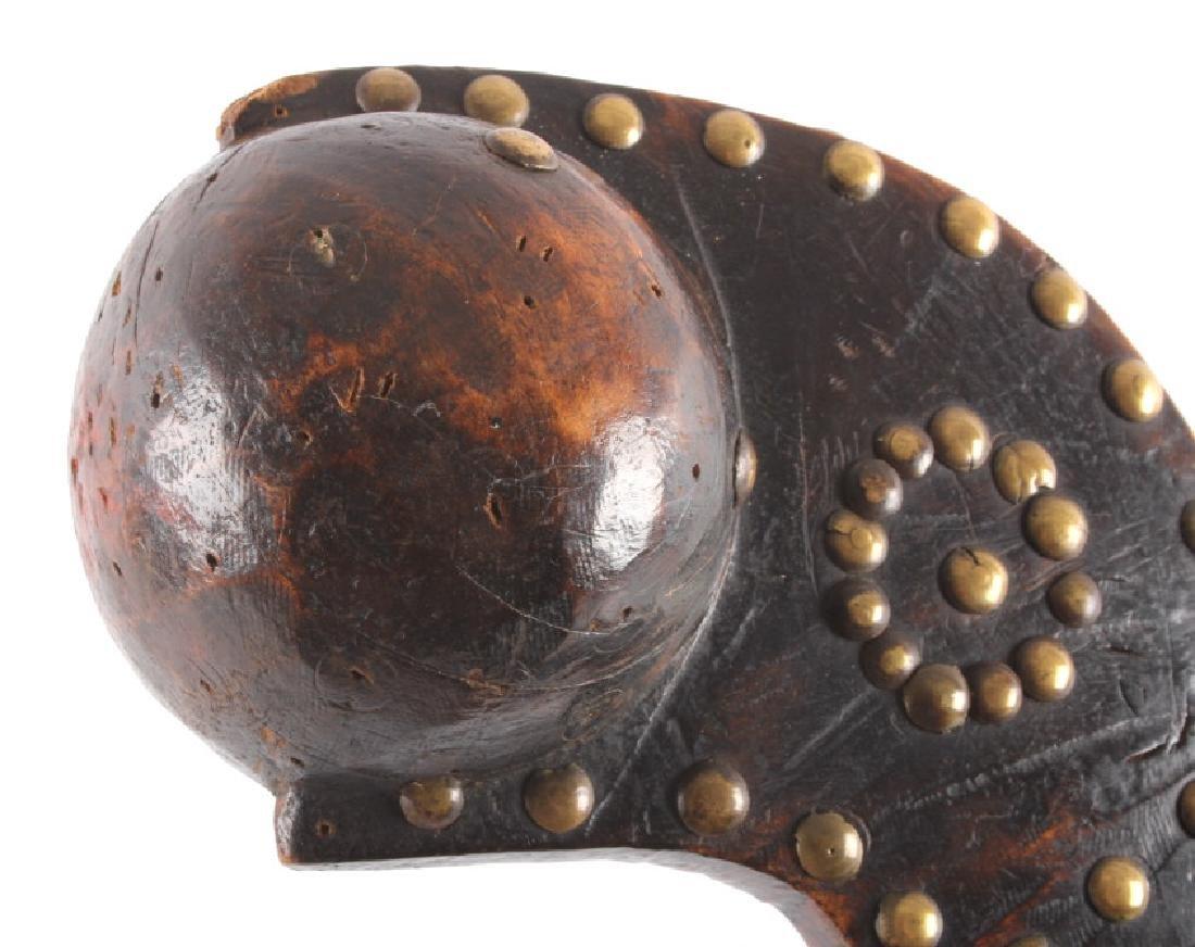 Western Woodlands Ball Head War Club c. 1800-1860 - 5