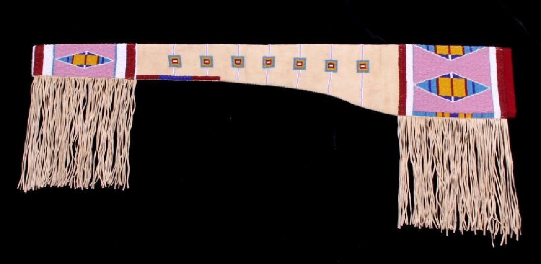 Lakota Sioux Fully Beaded Rifle Scabbard EXCELLENT