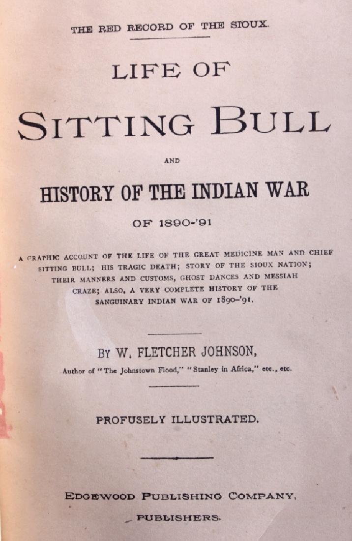 Sitting Bull and the Indian War Salesman Sample - 3