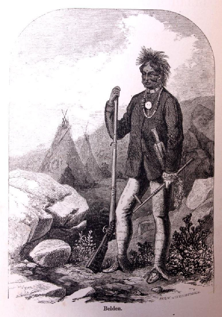 Belden the White Chief First Edition 1870 - 4