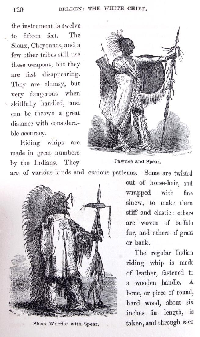Belden the White Chief First Edition 1870 - 9