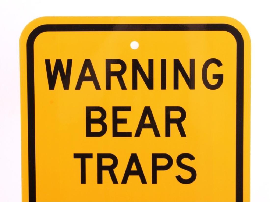 Montana Game, Fish, & Parks Bear Trap Sign - 2