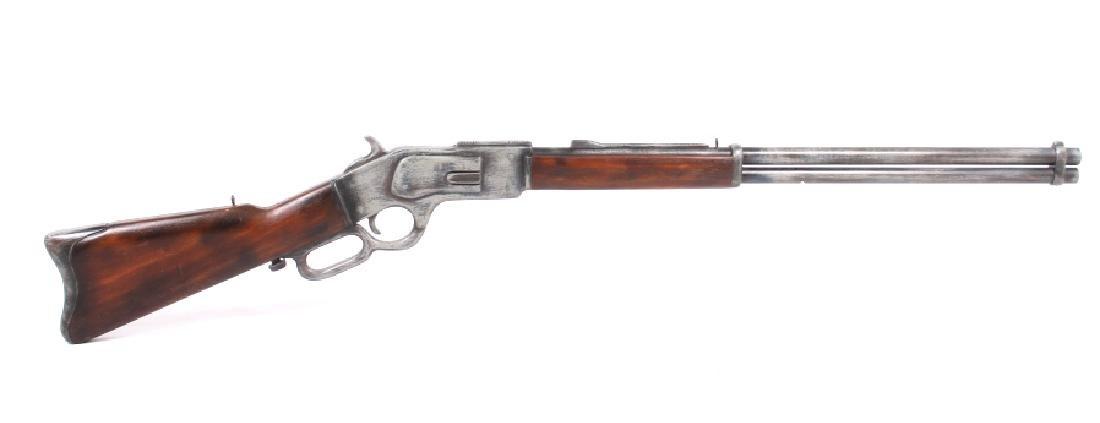 1950's Winchester Mod. 1873 Massive Trade Sign - 10