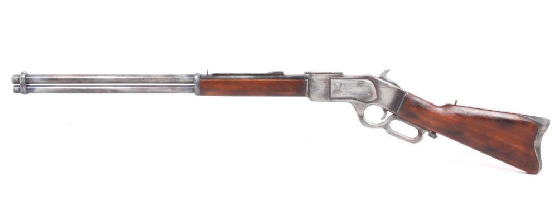 1950's Winchester Mod. 1873 Massive Trade Sign