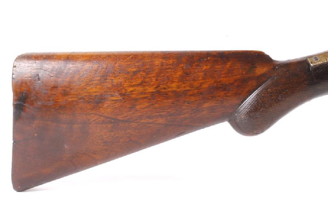 W. Richards Side by Side 10 Gauge Shotgun - 10
