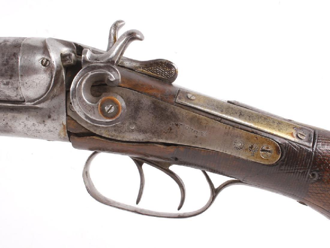 W. Richards Side by Side 10 Gauge Shotgun - 5