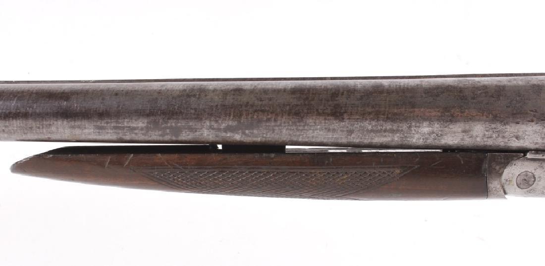 W. Richards Side by Side 10 Gauge Shotgun - 6